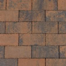 Betonklinker bruin zwart 21x10,5x8cm