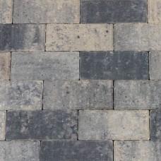 Betonklinker grijs zwart 21x10,5x6cm