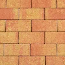 Betonklinker terracotta geel 21x10,5x6cm
