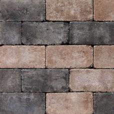Antieke trommel betonstraatsteen 21x10,5x6cm moderno gebakken