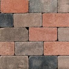 Antieke trommel betonstraatsteen 21x10,5x6cm nieuw veendam gebakken