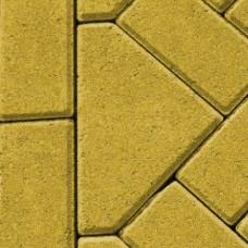 Bisschopsmuts geel 8cm