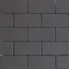 Design brick black 21x10,5x6cm