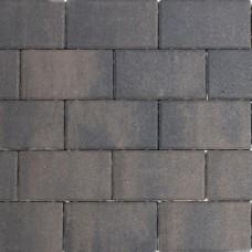 Design brick dark sepia 21x10,5x6cm