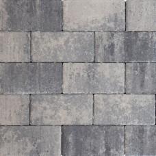 Design brick nero grey 21x10,5x8cm