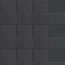 Design square black 30x20x6cm