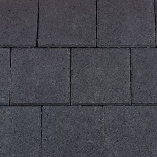 Dubbelklinker antraciet 21x21x6cm