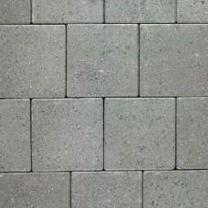Dubbelklinker grijs 21x21x8cm