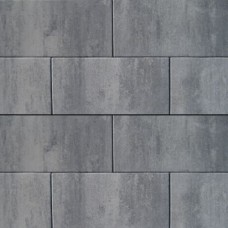 H2O glad square nero grey 60x30x5cm