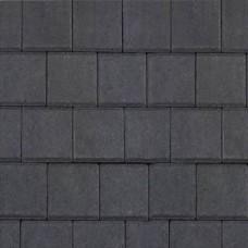 Halve betonklinker antraciet 10,5x10,5x8cm