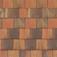 Halve betonklinker bruin gv 10,5x10,5x8cm
