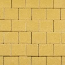 Halve betonklinker geel 10,5x10,5x8cm