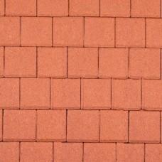 Halve betonklinker rood 10,5x10,5x8cm