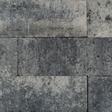 Linea palissade strak grijs zwart 15x15x60cm