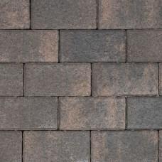 Nature top betonklinker rusty black 21x10,5x6cm