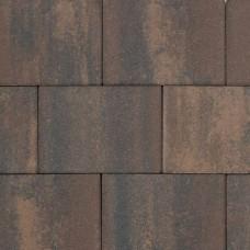 Patio square marrone viola 30x20x6cm