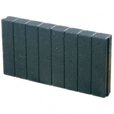Mini quadratopalissade antraciet 6x25x50cm Kijlstra