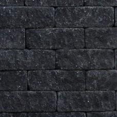 Splitrocks getrommeld antraciet 11x13x32cm