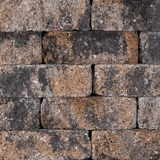 Splitrocks getrommeld grigio camello 11x13x32cm