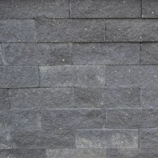 Splitrocks ongetrommeld antraciet 11x13x32cm