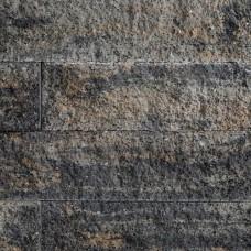 Splitrocks ongetrommeld hoekstuk grigio camello 11x13x29cm