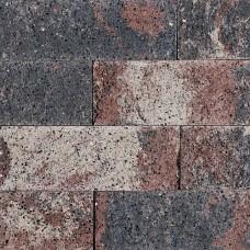 Splitrocks ongetrommeld tricolore 11x13x32cm