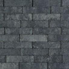 Strak waalformaat grijs zwart 20x5x6cm