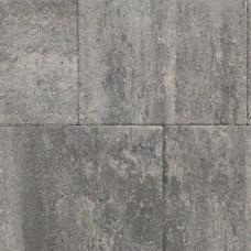 Straksteen grijs zwart 40x30x6cm