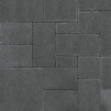 Straksteen antraciet wildverband 5cm