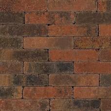 Trommel dikformaat bruin gv 21x6,8x6cm