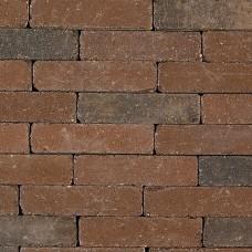 Trommel dikformaat bruin zwart 21x6,8x6cm