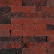 Trommel waalformaat rood zwart 20x5x7cm