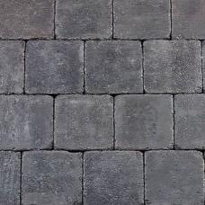Trommelsteen antraciet 15x15x6cm