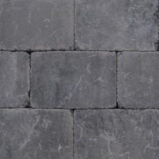 Trommelsteen antraciet 20x30x5cm