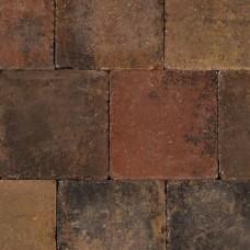 Trommelsteen bruin gv 20x20x6cm
