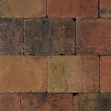 Trommelsteen bruin gv 20x30x6cm