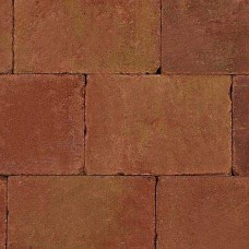 Trommelsteen terracotta geel 20x30x5cm